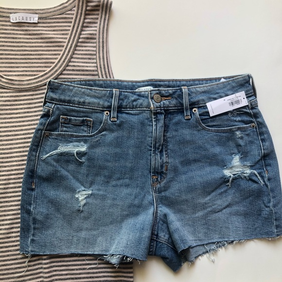 4f6efaa319 Old Navy Shorts | High Rise Distressed Cut Off | Poshmark